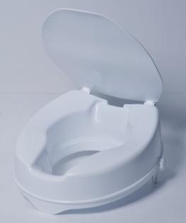 Rehausseur de WC avec molette et couvercle