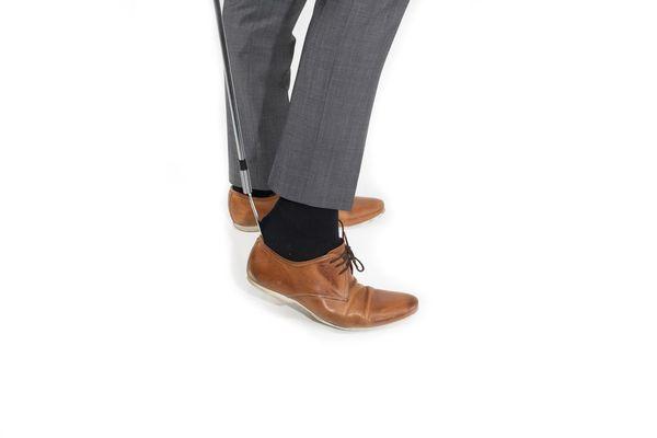 Chausse-pied flexible à long manche