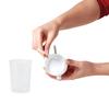 Lot de 10 pailles pour gobelet Novo | VITILITY