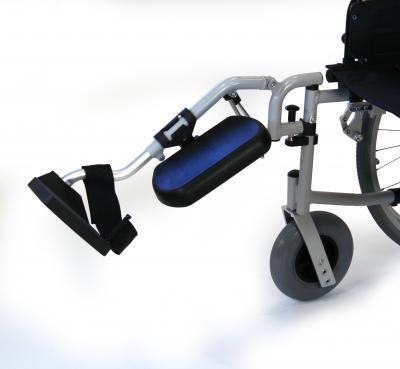 Paire de repose-jambes pour fauteuil roulant